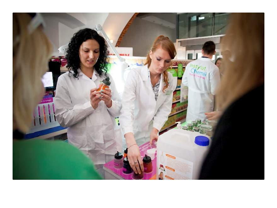 Instytut Chemii Nadużywanej projekt edukujący w zakresie dodatków do żywności